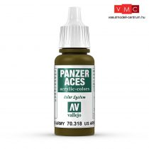 Vallejo 70318 US. Army Tanker - 17 ml (Panzer Aces)