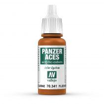Vallejo 70341 Flesh Base - 17 ml (Panzer Aces)