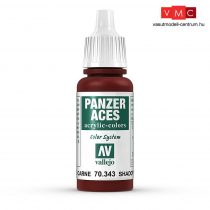 Vallejo 70343 Flesh Shadows - 17 ml (Panzer Aces)