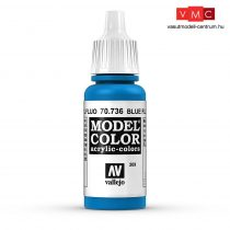 Vallejo 70736 Blue Fluorescent - 17 ml (Model Color) (209)