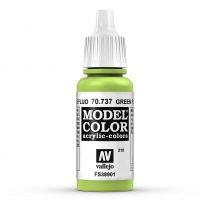 Vallejo 70737 Green Fluorescent - 17 ml (Model Color) (210)