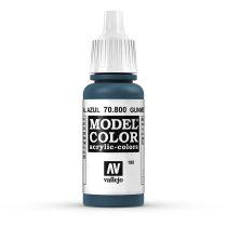 Vallejo 70800 Gunmetal Blue - 17 ml (Model Color) (180)