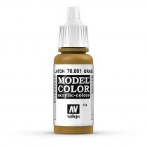 Vallejo 70801 Brass - 17 ml (Model Color) (174)