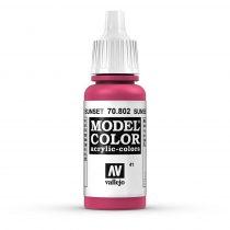 Vallejo 70802 Sunset Red - 17 ml (Model Color) (41)