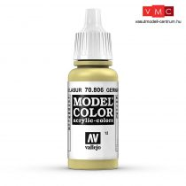 Vallejo 70806 German Yellow - 17 ml (Model Color) (12)