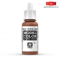Vallejo 70818 Red Leather - 17 ml (Model Color) (136)