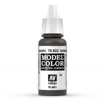 Vallejo 70822 German Camouflage Black Brown - 17 ml (Model Color) (150)