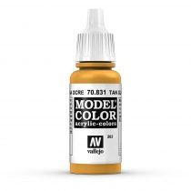 Vallejo 70831 Tan Glaze - 17 ml (Model Color) (203)