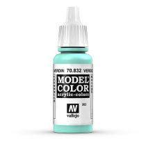 Vallejo 70832 Verdigris Glaze - 17 ml (Model Color) (202)