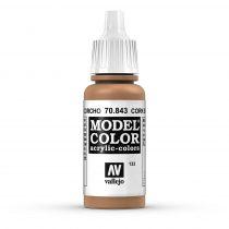 Vallejo 70843 Cork Brown - 17 ml (Model Color) (133)