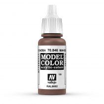 Vallejo 70846 Mahogany Brown - 17 ml (Model Color) (139)
