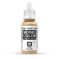 Vallejo 70847 Dark Sand - 17 ml (Model Color) (123)
