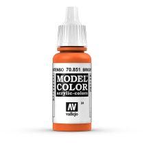 Vallejo 70851 Bright Orange - 17 ml (Model Color) (24)