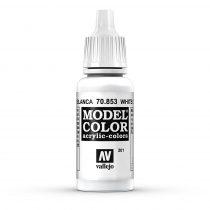 Vallejo 70853 White Glaze - 17 ml (Model Color) (201)