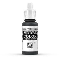 Vallejo 70855 Black Glaze - 17 ml (Model Color) (205)