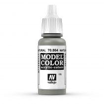 Vallejo 70864 Natural Steel - 17 ml (Model Color) (178)
