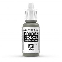 Vallejo 70865 Oily Steel - 17 ml (Model Color) (177)