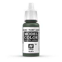 Vallejo 70867 Dark Bluegrey - 17 ml (Model Color) (164)