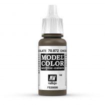 Vallejo 70872 Chocolate Brown - 17 ml (Model Color) (149)
