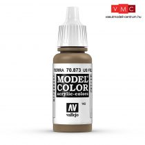 Vallejo 70873 Us Field Drab - 17 ml (Model Color) (142)