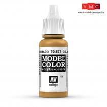 Vallejo 70877 Goldbrown - 17 ml (Model Color) (126)