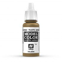 Vallejo 70879 Green Brown - 17 ml (Model Color) (114)