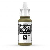 Vallejo 70881 Yellow Green - 17 ml (Model Color) (112)