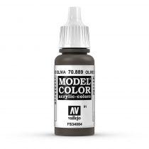 Vallejo 70889 U.S.A. Olive Drab - 17 ml (Model Color) (91)