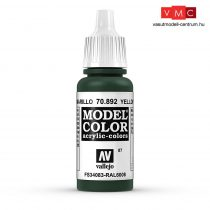Vallejo 70892 Yellow Olive - 17 ml (Model Color) (87)