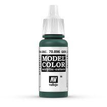 Vallejo 70896 German Camouflage Extra Dark Green - 17 ml (Model Color) (99)
