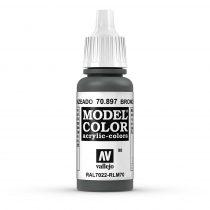 Vallejo 70897 Bronze Green - 17 ml (Model Color) (98)