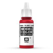 Vallejo 70908 Carmine Red - 17 ml (Model Color) (30)