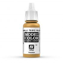 Vallejo 70913 Yellow Ochre - 17 ml (Model Color) (121)