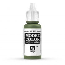 Vallejo 70922 Uniform Green - 17 ml (Model Color) (84)