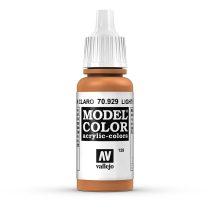 Vallejo 70929 Light Brown - 17 ml (Model Color) (129)