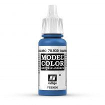 Vallejo 70930 Dark Blue - 17 ml (Model Color) (53)