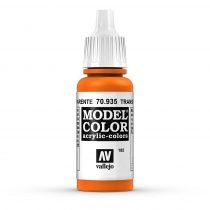 Vallejo 70935 Transparent Orange - 17 ml (Model Color) (185)