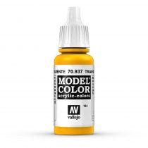 Vallejo 70937 Transparent Yellow - 17 ml (Model Color) (184)