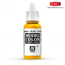 Vallejo 70937 Transparent Yellow - 17 ml (Model Color) (184)