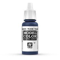 Vallejo 70938 Transparent Blue - 17 ml (Model Color) (187)
