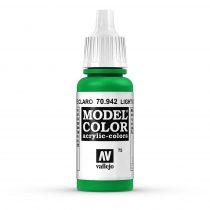 Vallejo 70942 Light Green - 17 ml (Model Color) (75)
