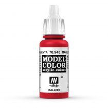 Vallejo 70945 Magenta - 17 ml (Model Color) (42)