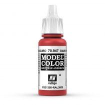 Vallejo 70947 Dark Vermillion - 17 ml (Model Color) (29)