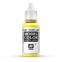 Vallejo 70949 Light Yellow - 17 ml (Model Color) (10)