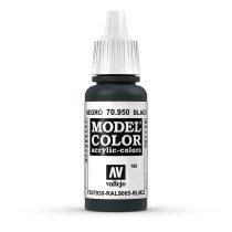 Vallejo 70950 Black - 17 ml (Model Color) (169)