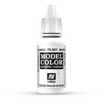Vallejo 70951 White - 17 ml (Model Color) (1)