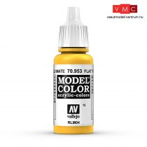 Vallejo 70953 Flat Yellow - 17 ml (Model Color) (15)