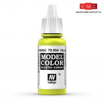 Vallejo 70954 Yellow Green - 17 ml (Model Color) (78)
