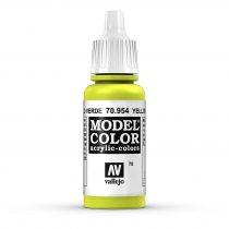 Vallejo 70954 Yellow Green - 17 ml (Model Color) (78)