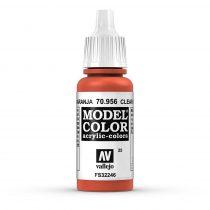 Vallejo 70956 Clear Orange - 17 ml (Model Color) (25)